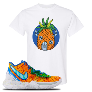 Kyrie 5 Pineapple House T-Shirt | White, Pineapple House