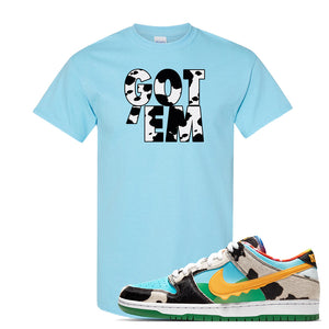 SB Dunk Low 'Chunky Dunky' T Shirt | Sky, Got Em