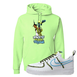 Air Force 1 '07 PRM 'Worldwide Pack' Hoodie | Neon Green, Don't Hate The Playa