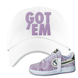 Air Force 1 P[her]spective Dad Hat | White, Got Em