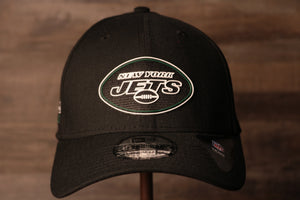 Jets 2020 NFL Draft Flexfit | New York Jets 2020 NFL Draft Black Stretch Fit the front of this cap has the jets logo in a neon sign like design