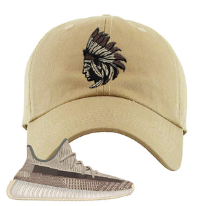 Yeezy 350 v2 Zyon Dad Hat | Khaki, Indian Chief