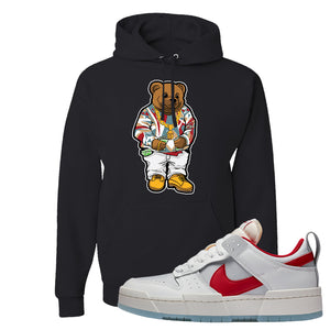 Dunk Low Disrupt Gym Red Hoodie | Sweater Bear, Black