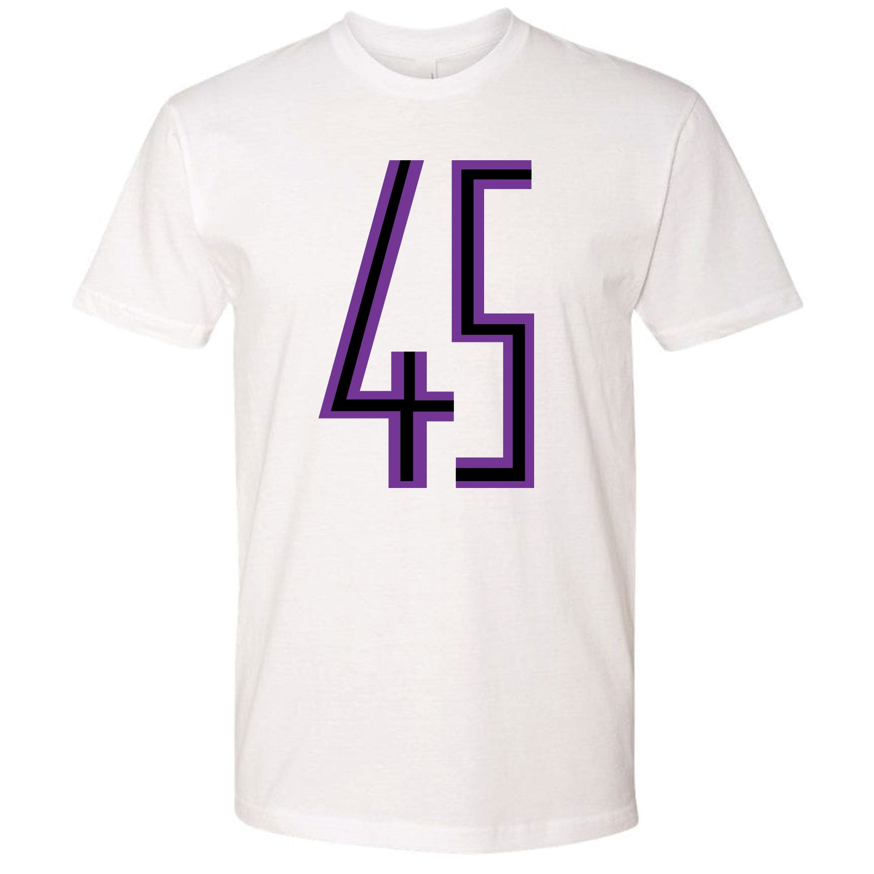 d5df6cc6142c54 ... Printed on the front of the Jordan 11 Concord 45s white sneaker matching  t-shirt