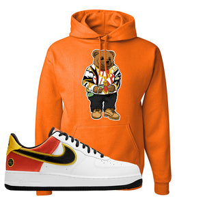 Air Force 1 Low Roswell Rayguns Hoodie | Sweater Bear, Orange