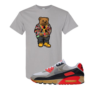 Air Max 90 Infrared T Shirt | Sweater Bear, Gravel