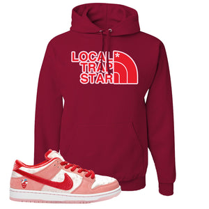SB Dunk Low 'StrangeLove' Hoodie | Cardinal, Local Trap Star