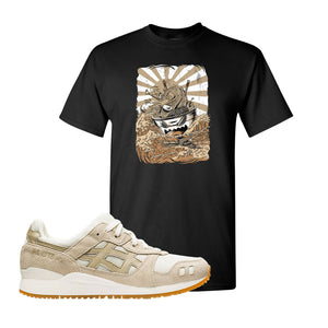 GEL-Lyte III 'Monozukuri Pack' T Shirt | Black, Ramen Monster