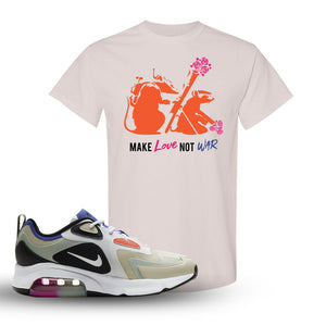 Air Max 200 WMNS Fossil Sneaker Natural T Shirt | Tees to match Nike Air Max 200 WMNS Fossil Shoes | Army Rats