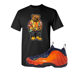 Foamposite One OKC T Shirt | Black, Sweater Bear