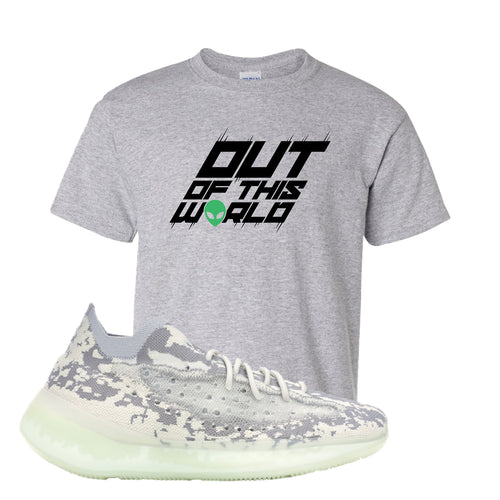 Yeezy Boost 380 Alien Outta This World Sport Gray Sneaker Matching Kid's T-Shirt