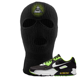 Air Max 90 Exeter Edition Black Ski mask | All Seeing Eye, Black