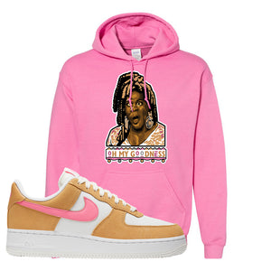 Nike Air Force 1 Pink Orange Hoodie | Oh My Goodness, Azalea