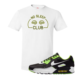 Air Max 90 Exeter Edition Black T Shirt | No Sleep Club, White