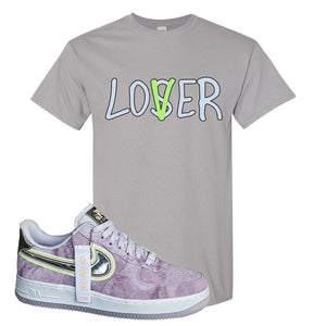 Air Force 1 P[her]spective T Shirt | Gravel, Lover