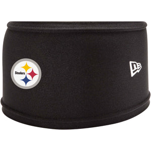 on the front of the pittsburgh steelers 2018 training camp headband is the pittsburgh steelers logo