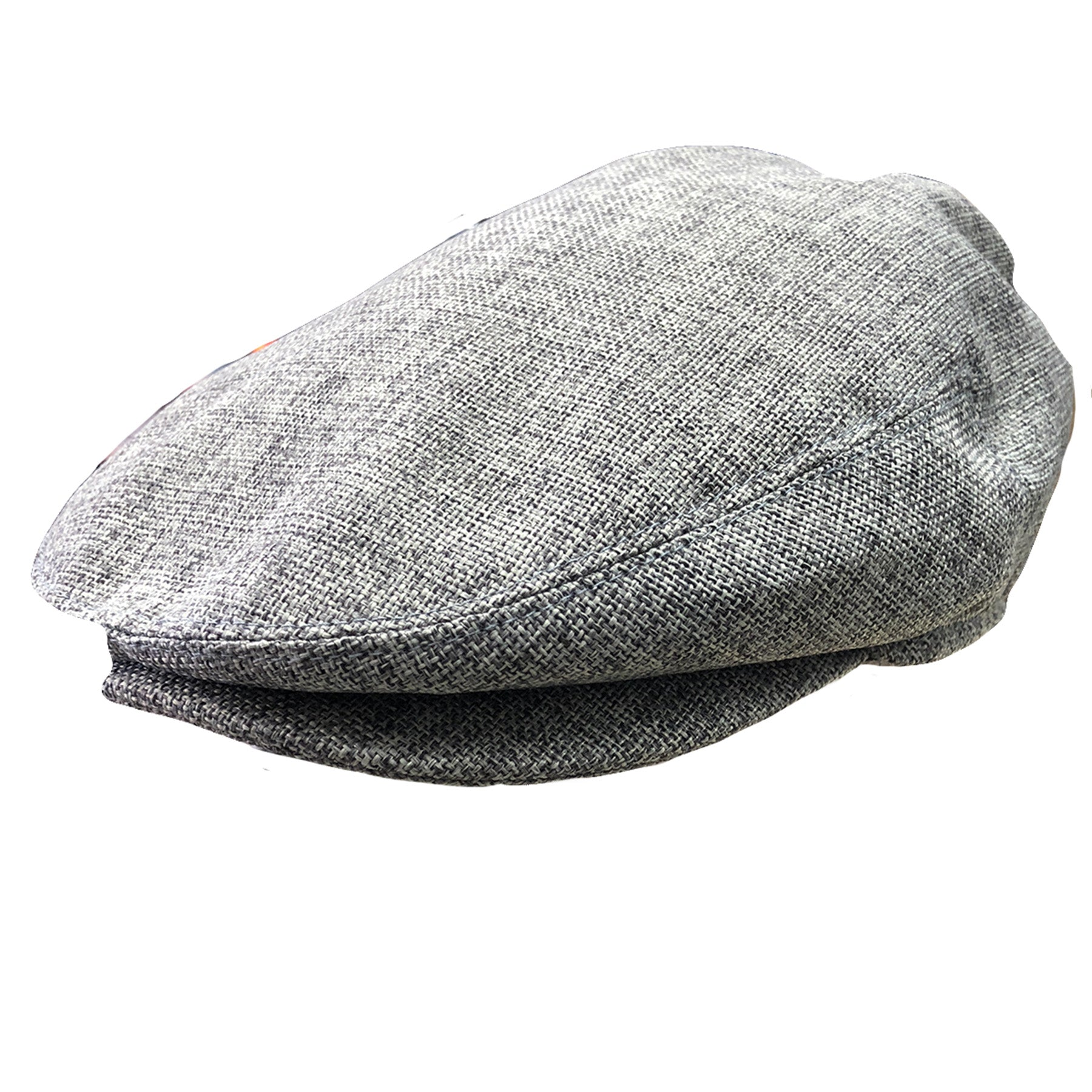 the lightweight heather gray jeff cap is made out of a light heather gray  material 336b010e1f0