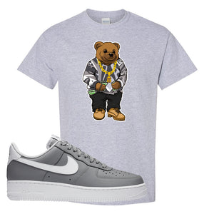 Air Force 1 Low Wolf Grey White T Shirt | Sport Grey, Sweater Bear
