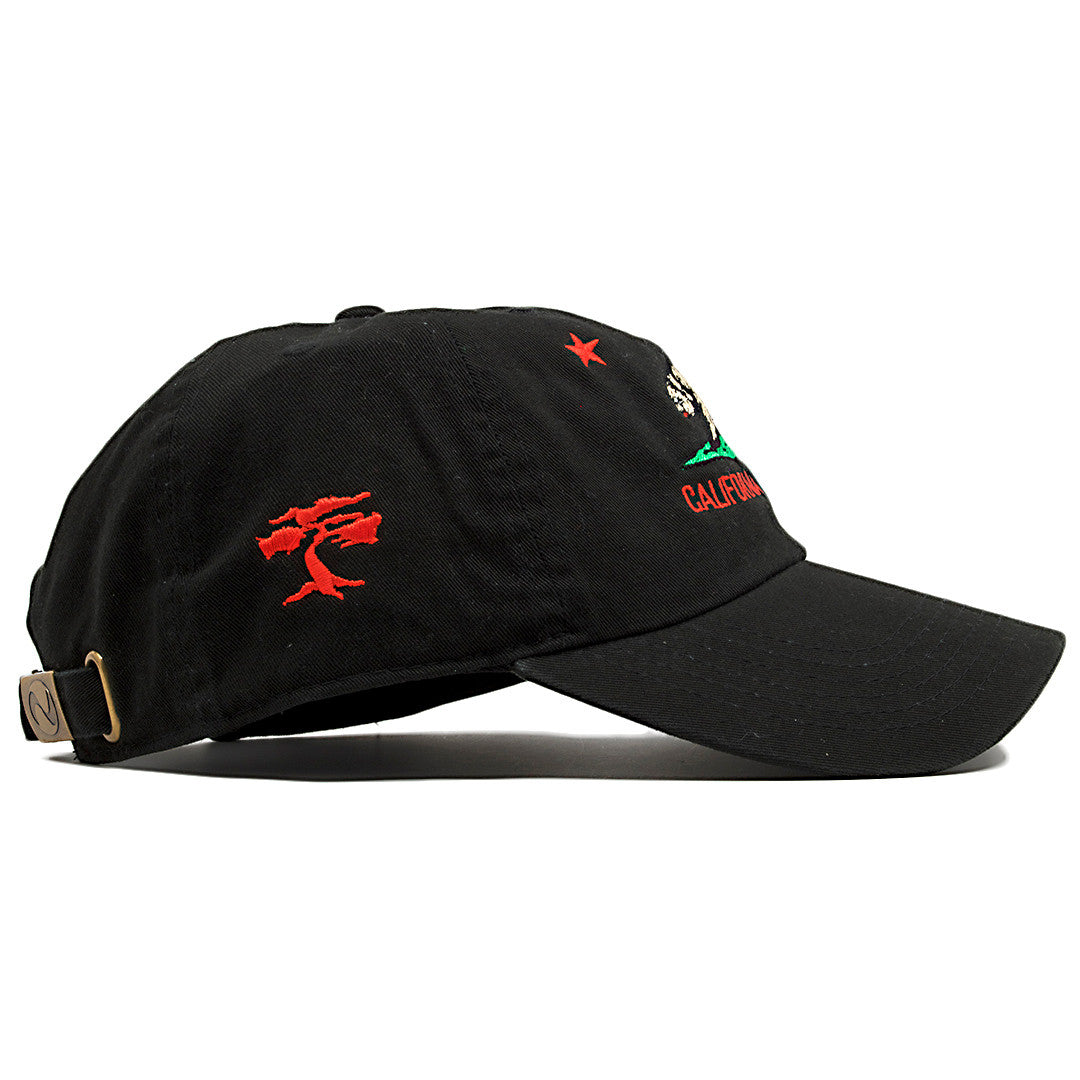 ... On the wearer s right side of the Foot Clan California Republic Cali  Bear dad hat the ... 2a0f6273832