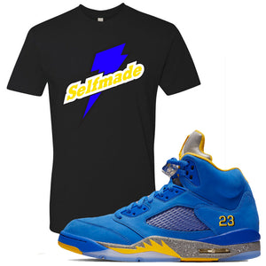 This black and yellow t-shirt will match great with your Jordan 5 Alternate Laney JSP shoes
