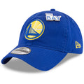 the 2018 NBA Draft Golden State Warriors 9Twenty dad hat features a pin that says The Bay