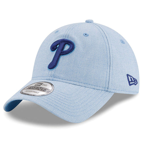 separation shoes 46f1d fbcfd on the front of the youth sized philadelphia phillies father s day on-field  dad hat