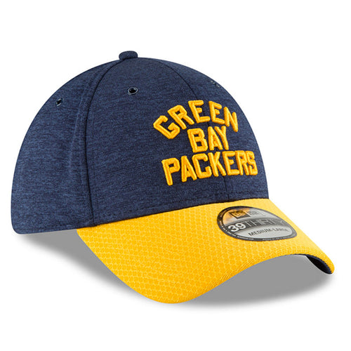 d60d4e1c90244 embroidered on the front of the green bay packers 2018 on-field sideline  historic home