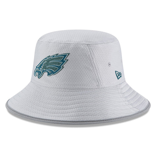 on the front of the philadelphia eagles youth training camp bucket hat is  the philadelphia eagles 7a555ed6284c