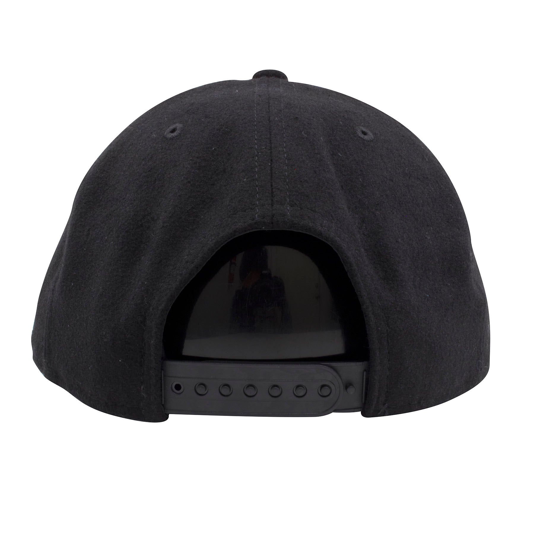 01feeccb3b2 ... new era logo embroidered in  the back of the philadelphia eagles snapback  hat has a black adjustable snap