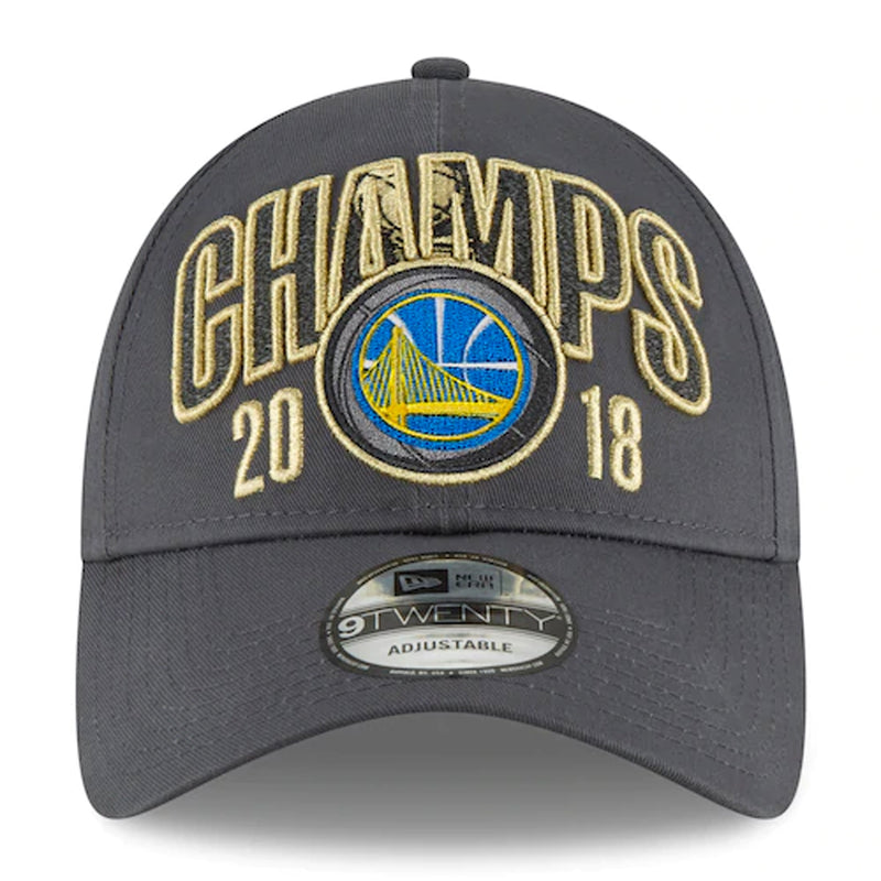 front of Warriors Dad hat | Golden State warriors championship dad hat 2018