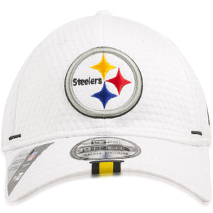 Pittsburgh Steelers 2019 Training Camp White 39Thirty Flexfit Cap