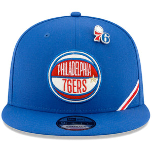 Philadelphia 76ers 2019 NBA Draft On-Stage 9FIFTY Snapback Hat