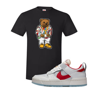 Dunk Low Disrupt Gym Red T Shirt | Sweater Bear, Black
