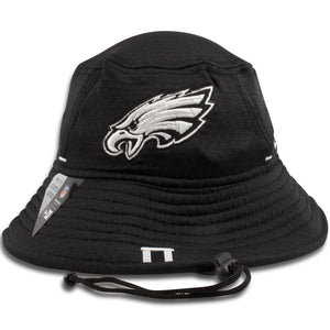 Philadelphia Eagles 2019 Training Camp Black Training Bucket Hat