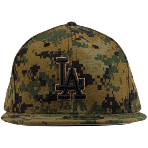 Los Angeles Dodgers 2016 Memorial Day Digital Camouflage 59Fifty Fitted Cap