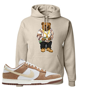 Dunk Low Medium Curry Hoodie | Sweater Bear, Sand