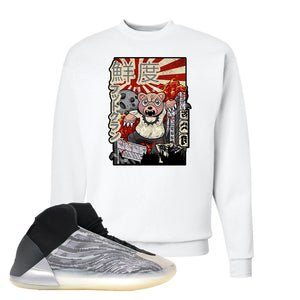 Yeezy Quantum Crewneck | White, Attack Of The Bear