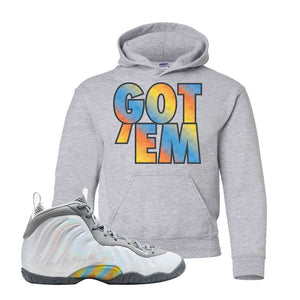 Lil Posite One Rainbow Pixel Kids Hoodie | Sport Grey, Got Em
