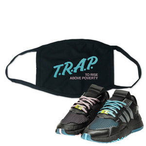 Ninja x adidas Nite Jogger Face Mask | Trap To Rise Above Poverty, Black