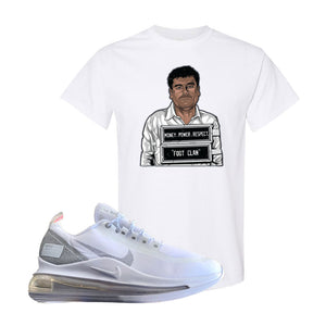 Air Max 720 Utility White T Shirt | White, El Chapo Illustration