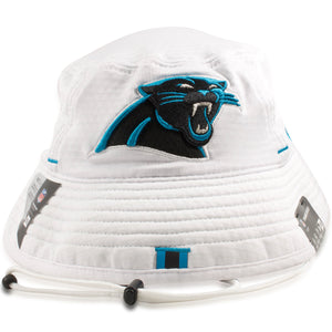 Carolina Panthers 2019 Training Camp White Training Bucket Hat