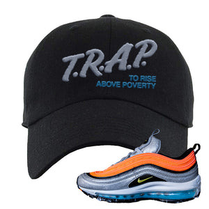 Air Max Plus Sky Nike Dad Hat | Black, Trap To Rise Above Poverty