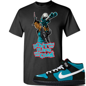 SB Dunk Mid 'Griffey' T Shirt | Black, Dont Hate The Player