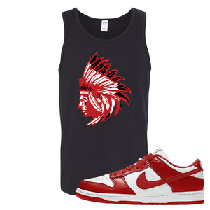 SB Dunk Low St. Johns Tank Top | Indian Chief, Black