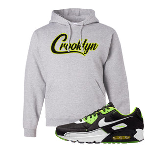 Air Max 90 Exeter Edition Black Hoodie | Crooklyn, Ash