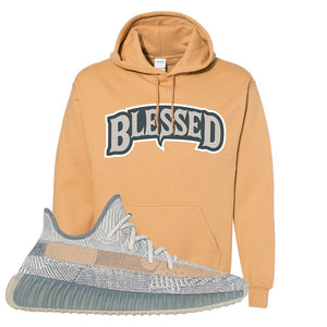 Yeezy Boost 350 V2 Israfil Hoodie | Old Gold, Blessed Arch