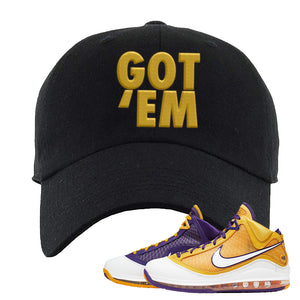 Lebron 7 'Media Day' Dad Hat | Black, Got Em