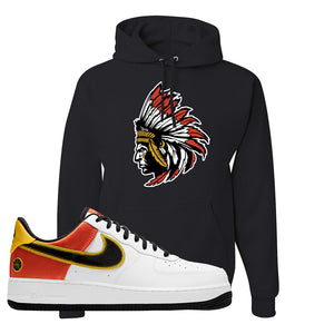 Air Force 1 Low Roswell Rayguns Hoodie | Indian Chief, Black