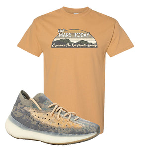 Yeezy Boost 380 Mist Sneaker Old Gold T Shirt | Tees to match Adidas Yeezy Boost 380 Mist Shoes | Visit Mars