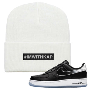 Colin Kaepernick X Air Force 1 Low Beanie | White, I'm With Kap